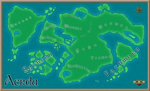 Map of Aerda